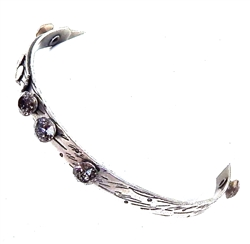 THUNDERBIRD CROW HEART BANGLE