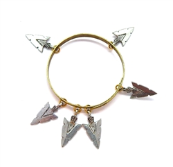 THUNDERBIRD PINON ARROWHEAD BANGLE