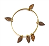 THUNDERBIRD RAWHIDE ARROWHEAD BANGLE