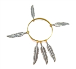 THUNDERBIRD LADYHAWKE LARGE  FEATHER BANGLE