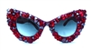 THIS MEANS WAR CATS MEOW SUNGLASSES