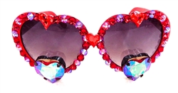 TRUE ROMANCE RED BANG BANG LOLITA GLASSES