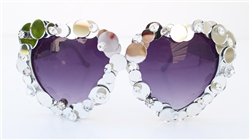 VANITY LOLITA HEART GLASSES
