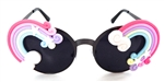 XANADU RAINBOW COCO GLASSES