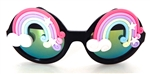 XANADU RAINBOW WILDE CATERPILLAR GLASSES