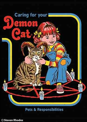 Caring for your demon cat