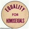 EQUALITY  for HOMOSEXUALS
