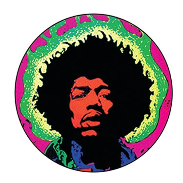 Jimi Hendrix (multi colors)