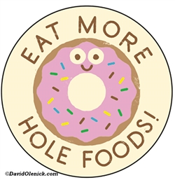 Eat more hole foods!