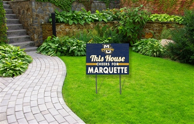 Marquette Cheer Lawn Sign