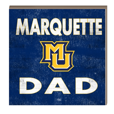 Marquette Dad Hang/Stand Plaque