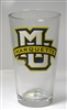 Marquette Golden Eagles MU Pint Glass