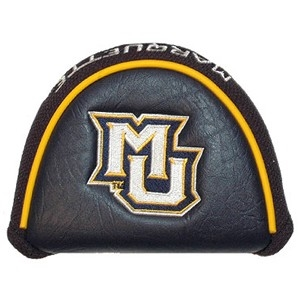 Marquette Golden Eagles Vinyl Mallet Putter Cover