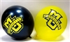 Marquette Blue & Gold Logo Balloons - 10 Pack
