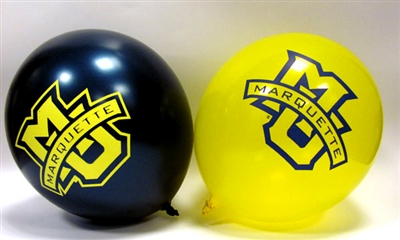 Marquette University  10 Pack Balloons