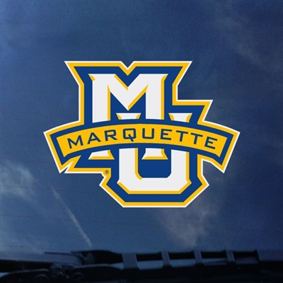 Marquette Golden Eagles MU/MARQUETTE Color Shock Decal