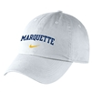 Marquette Golden Eagles Nike Campus Cap White
