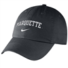 Marquette University Nike Campus Cap Anthracite