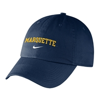 Marquette University Nike Campus Cap Navy