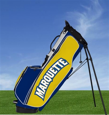 Marquette Golden Eagles Mascot Carry Golf Bag