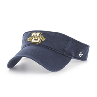 Marquette Golden Eagles Clean Up Visor Navy