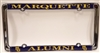 Marquette University Alumni License Plate Frame