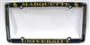 Marquette Golden Eagles Thin Rim University License Frame
