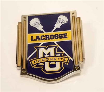 Marquette Golden Eagles Lacrosse Lapel Pin