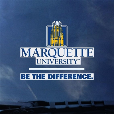Marquette Golden Eagles Be the Difference Decal