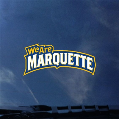 Marquette Golden Eagle We Are Marquette Mini Color Shock Decal