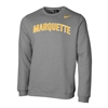 Marquette Club Fleece Crew Arch Grey
