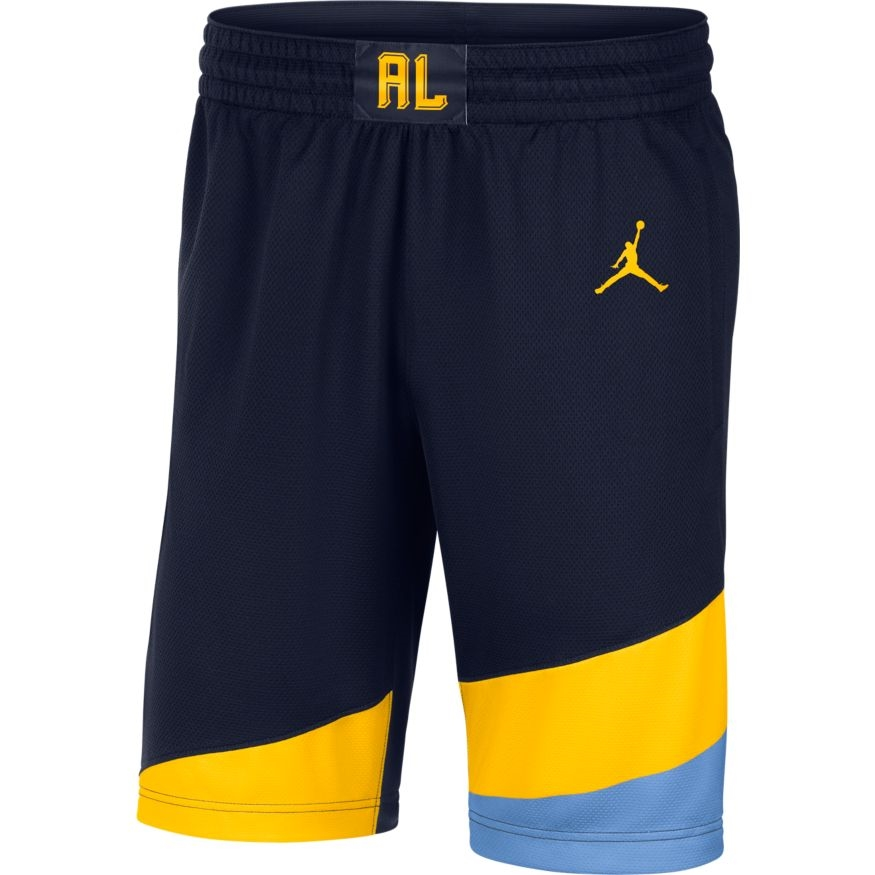 292a1761b6a Marquette Golden Eagles Jordan Brand Basketball Shorts Gold