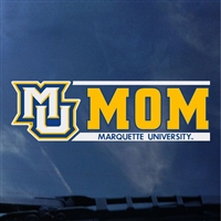 Marquette Golden Eagles Mom Decal MU