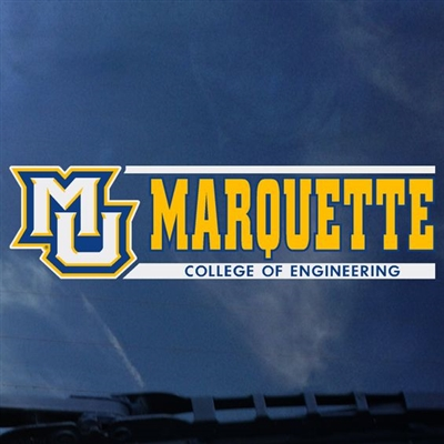 Marquette Golden Eagles Engineering Decal