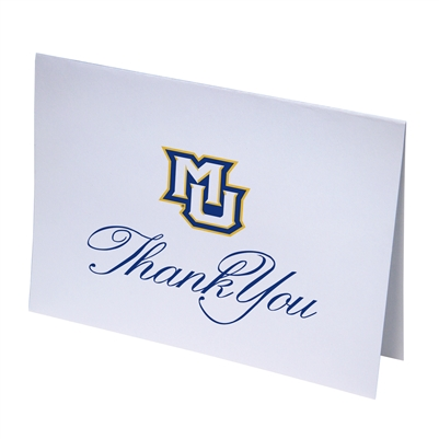 MU Thank You Notecards