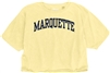 Marquette Butter Cropped Tee