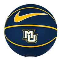 Marquette Full Size Rubber Basketball