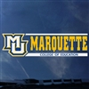 Marquette Golden Eagles Education Decal