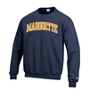 Navy Arch Sewn Letters Crew