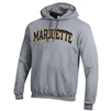 Gray Arch Sewn Letters Hood