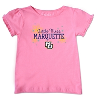 Marquette Golden Eagles Toddler Little Miss Marquette Tee