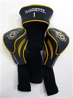 Marquette Golden Eagles 3 Pack Vinyl Golf Headcovers