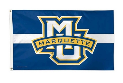 Marquette Golden Eagles Center Stripe Flag