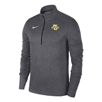 Marquette Golden Eagles Nike Pacer 1/4 Zip Top Carbon Heather