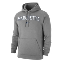 Marquette Golden Eagles Nike Arch & Swoosh Hoody Grey