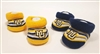 Marquette University Set of Two Infant Booties
