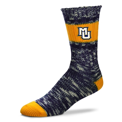 Marquette University  Alpine Stripes Socks