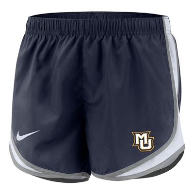Marquette Golden Eagles Women's Nike Tempo Short Navy