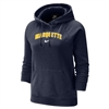 Women's Varsity Fleece Hoody Navy