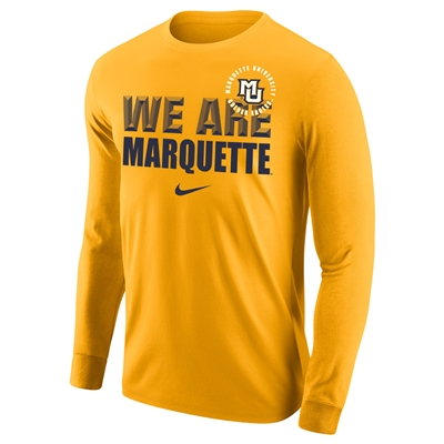 Gold We Are Long Sleeve Tee